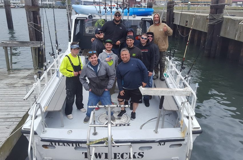Austin's April 15th Deep Sea Bachelor Wreck Fishing Shabang on Twrecks Atlantic City